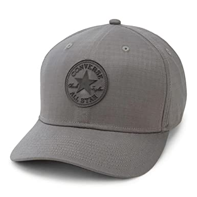 24e51d14438 Converse Ripstop Curved Snapback Cap - Grey  Amazon.co.uk  Clothing