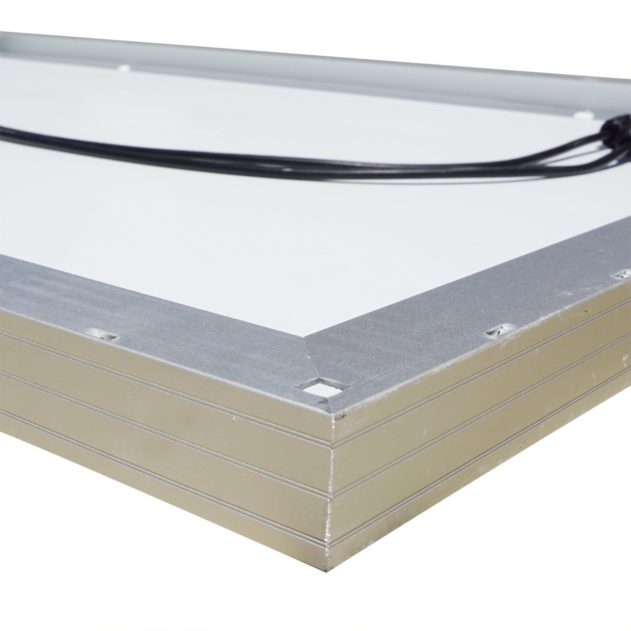 amazoncom eco worthy 500 watts complete solar kit off grid 5pcs 100w polycrystalline solar panel module 45a pwm charge controller 32 feet solar