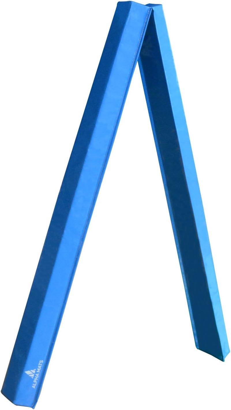 Alpha Mats Medium Density Floor Balance Beam for Aerobics, Yoga, Martial Arts - 9 Foot, Light Blue : Sports & Outdoors