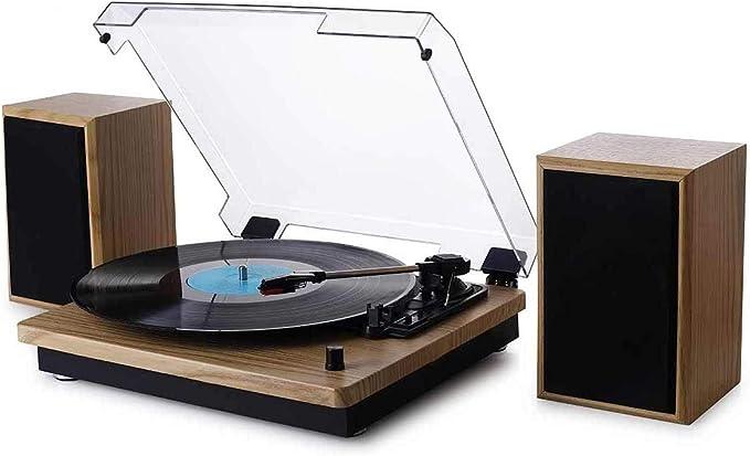 Vitrola Toca Discos de Vinil Bluetooth Concert Aria com 02 caixas de som externas Arena Phoenix Ópera Tenor Maxsound Uitech por Uitech