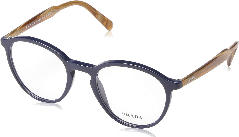 : Prada Men's PR 13TV Eyeglasses: Clothing