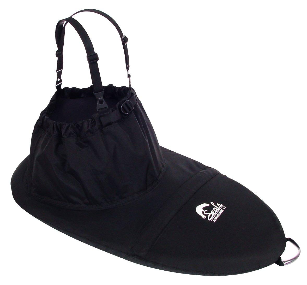 SEALS Adventurer Sprayskirt, 7.0 Black One Size