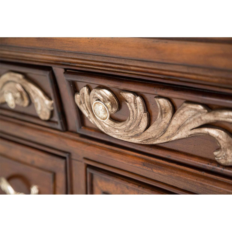 Amazon.com: Michael amini Platine de Royale Dresser, Madera ...