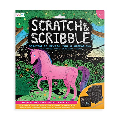 OOLY Scratch & Scribble Art Set