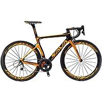SAVADECK Velo de Route Carbone, Phantom 3.0 700C Vélo de Course Homme Fibre de Carbone Shimano Ultegra 8000 22-Vitesses Michelin 25C Pneus Selle Fi'zi: k Route