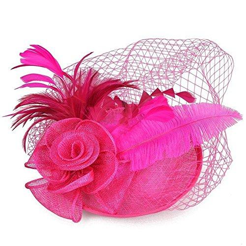 HANXIAODONG Cocktail Tea Party Headwear Womens 50s Headwear