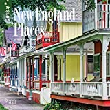 New England Places 2018 7 x 7 Inch Monthly Mini Wall Calendar, USA United States of America Scenic Nature (English, French and Spanish Edition)