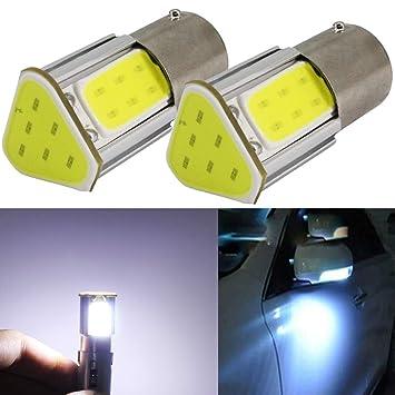 P21W Bombillas LED 12V BA15S 1156 S25 Luz de Coche Luz de Luz de Luz de ...