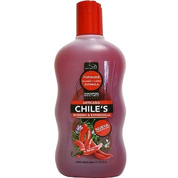 Amazon.com : Chiles Shampoo Rosemary & Esinocilla 16.9oz ...