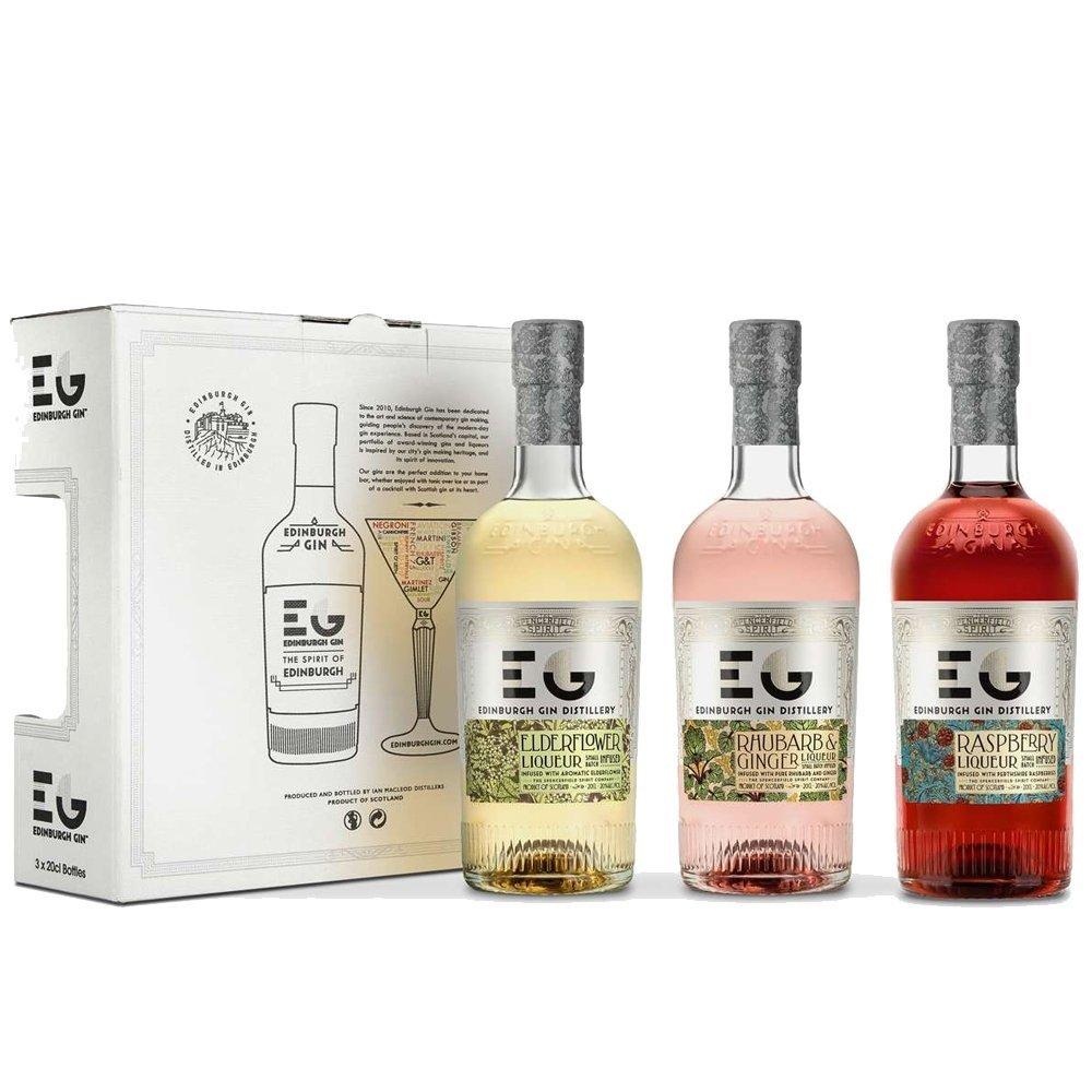 sc 1 st  Amazon UK & Edinburgh Ginu0027s Liqueurs Gift Set 3 x 20 cl: Amazon.co.uk: Grocery