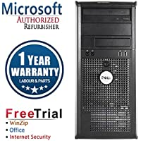 Dell 780 Business High Performance Tower Desktop Computer PC (Intel C2D E8400 3.0G,4G RAM DDR3,160G HDD,DVD-ROM,Windows 10 Professional)(Certified Refurbished)