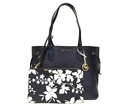 e3bd922888d2b0 Michael Kors Womens Trista Large Drawstring Leather Tote Purse: Amazon.co.uk:  Shoes & Bags
