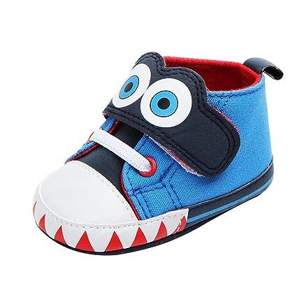 e1c15c97 B Blesiya Zapatos Casual para Bebés Calzado Deportivo Uso Diario Viajar  Centro Comercial Restaurante - Azul