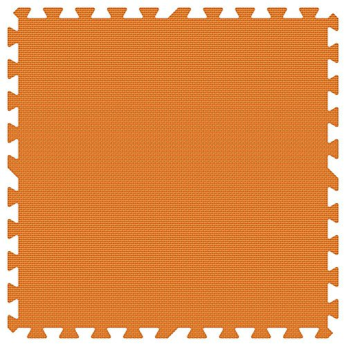 ORANGE 24 in. x 24 in. Comfortable Mat (100 sq.ft. / Case) by Groovy Mats