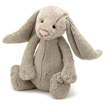 Jellycat Bashful - Conejo de peluche grande