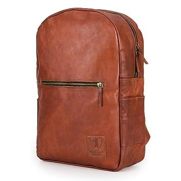 cc3e3de8c1807 Rucksack für Laptop BERLINER BAGS Hamburg XL aus Leder Notebookrucksack 15