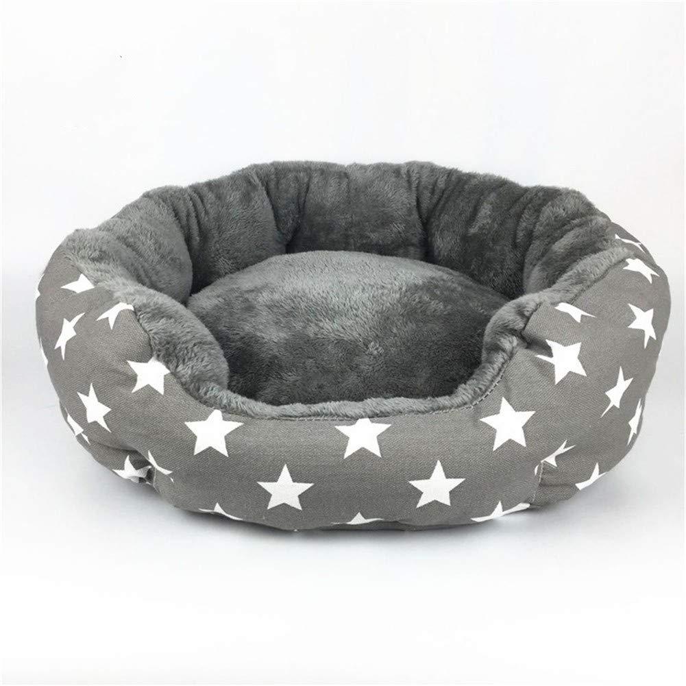 M PetvillaLKR Dog Bed Cat Bed Soft Pet Pad Cushion Pet Mat Dog House Furniture Puppy Blanket Pet Bed Removable Pillow Small Medium Dogs,M