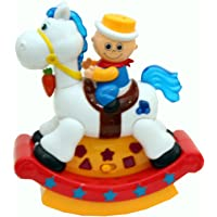 HANDA Musical Swing Hobby Horse Toy with Unique Light Projection and Songs For Kids