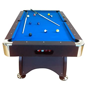 7Ft Pool Table Model BLUE SEA Billiard Playing Cloth Indoor Sports Game  Billiards Table New