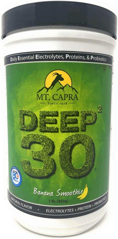 MT. CAPRA SINCE 1928 Deep 30 – Banana Smoothie – 1 Lb, 1 Pound
