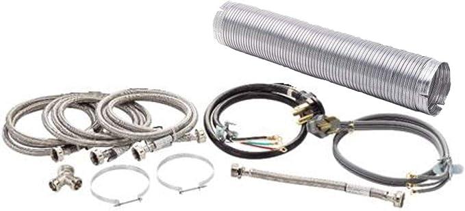 Superior Brands Kit de instalación de lavadora y secadora ...