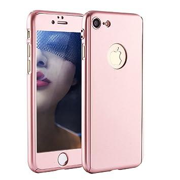 Funda iPhone 7 Plus 360 Grados Integral Para Ambas Caras + ...