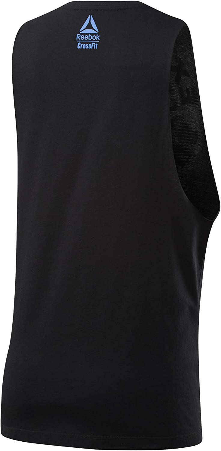 Reebok CF Excellence Is Obvious Muscle Tank Camiseta Sin Mangas Mujer