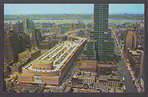 (Port Authority Bus Terminal New York City NY postcard 1950s)
