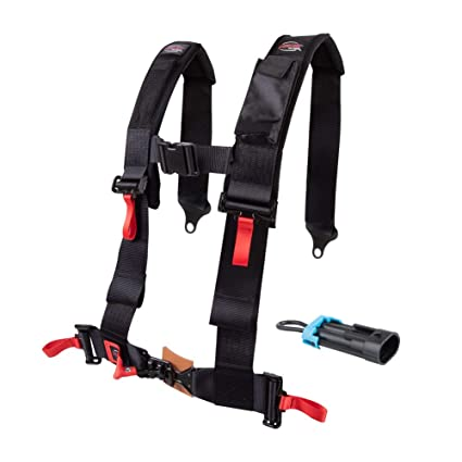 Amazon.com: Tusk 4 Point 3 inch H-Style Safety Harness - POLARIS RZR