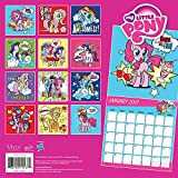 2017 Monthly Wall Calendar for Kids Girls - My Little Pony