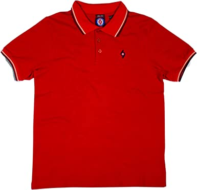 Spirit of 69 Men´s Slim-Fit 100% Cotton Tipped Pique Polo Shirt