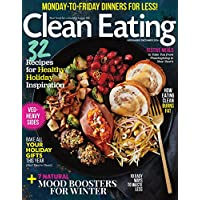 1-Year (9 issues) of Clean Eating Magazine Subscription