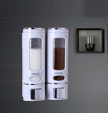 LyMei Dispensador de Jabón Líquido para Manos de Lavado en el Baño Dispensador de Jabón para