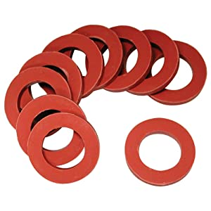 Danco, Inc. 80787 Round Hose, Use with Washing Machines, 3/4 in Id X 1 in Od, 5/8 in Washer, 1/8 in Thickness