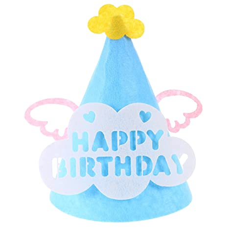 Amazon.com: Gorra de cumpleaños para fiesta creativa con ...