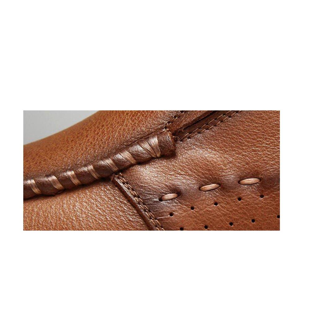 YXLONG Art und Lederschuhe Weise Lederschuhe und Männer Erste Schicht Leder Freizeitschuhe der Ersten Schicht Leder Herrenschuhe Herrenschuhe Freizeitschuhe 84365f