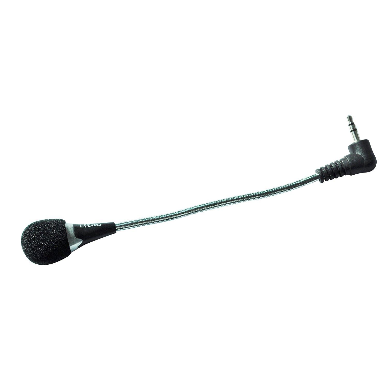 SODIAL(TM) Mini microfono 3,5 mm flessibile per PC 000303