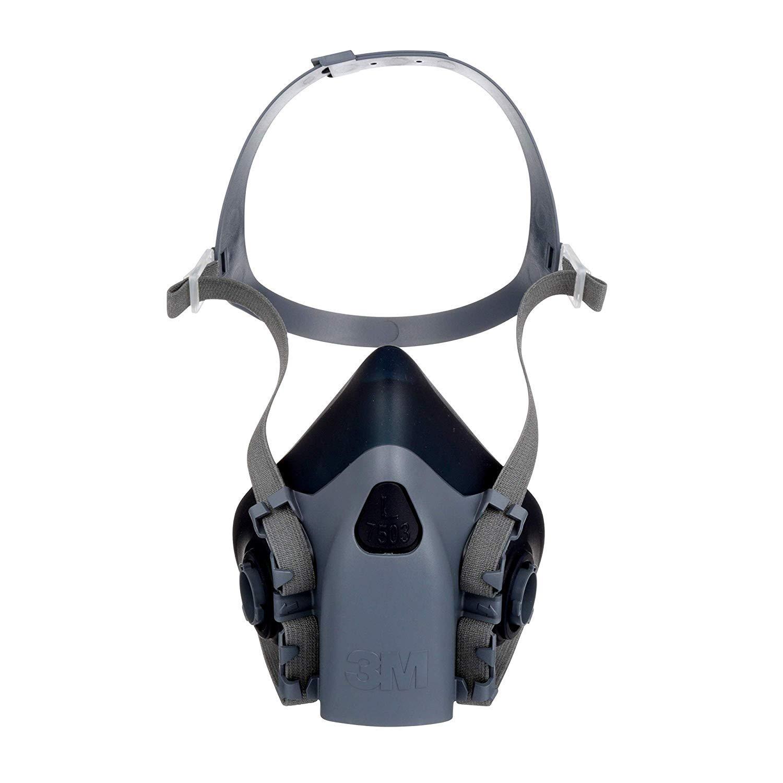 3M Personal Protective Equipment Half Facepiece Reusable Respirator