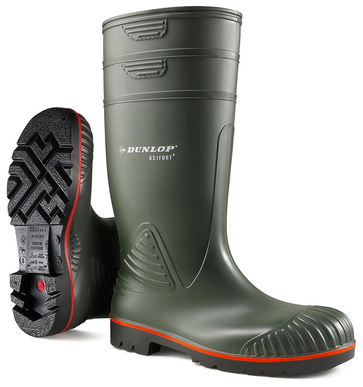 Dunlop A442631 S5 ACIF.KNIE - botas de goma sin forro con caña alta de goma Unisex adulto
