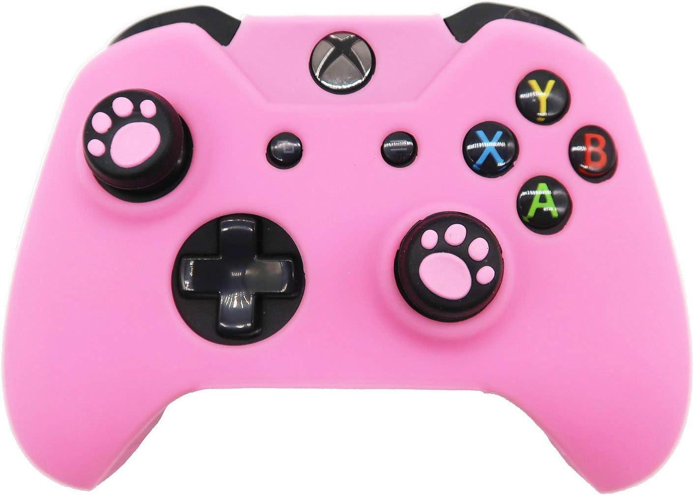 BRHE - Funda de Silicona Antideslizante para Mando de Xbox One, Color Rosa: Amazon.es: Electrónica