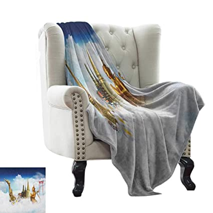 Amazon.com: warmfamily Asian, Throw Blanket,Collection of ...