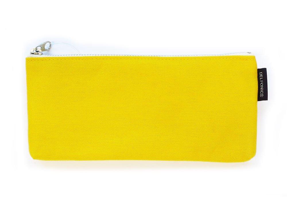 DELFONICS Marek flat pencase Yellow EN53