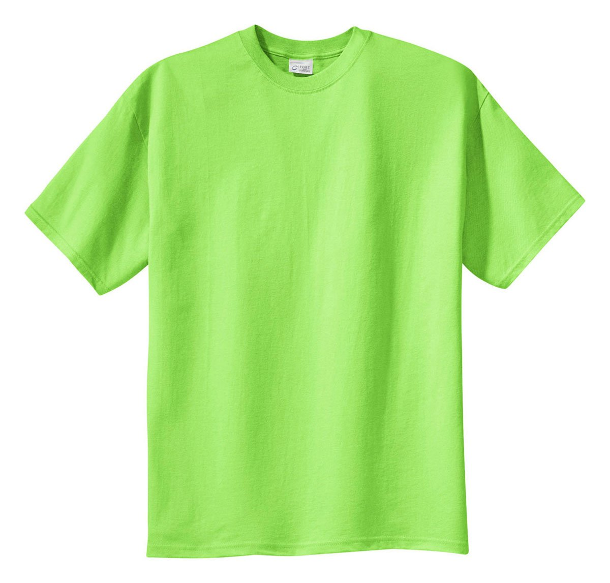 Port & Company Tall 100% Cotton Essential TShirt PC61T,3X-Large T,Lime