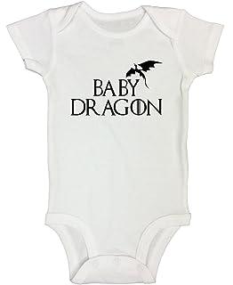 "c2cc6756b Newborn Onesie Game of Thrones Kids Shirt ""Baby Dragon"" - Funny Threadz"