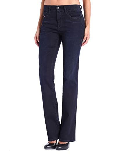 Diesel Bootzee-St 0608Y Regular Slim Bootcut Women's Jeans Trousers:  Amazon.co.uk: Clothing