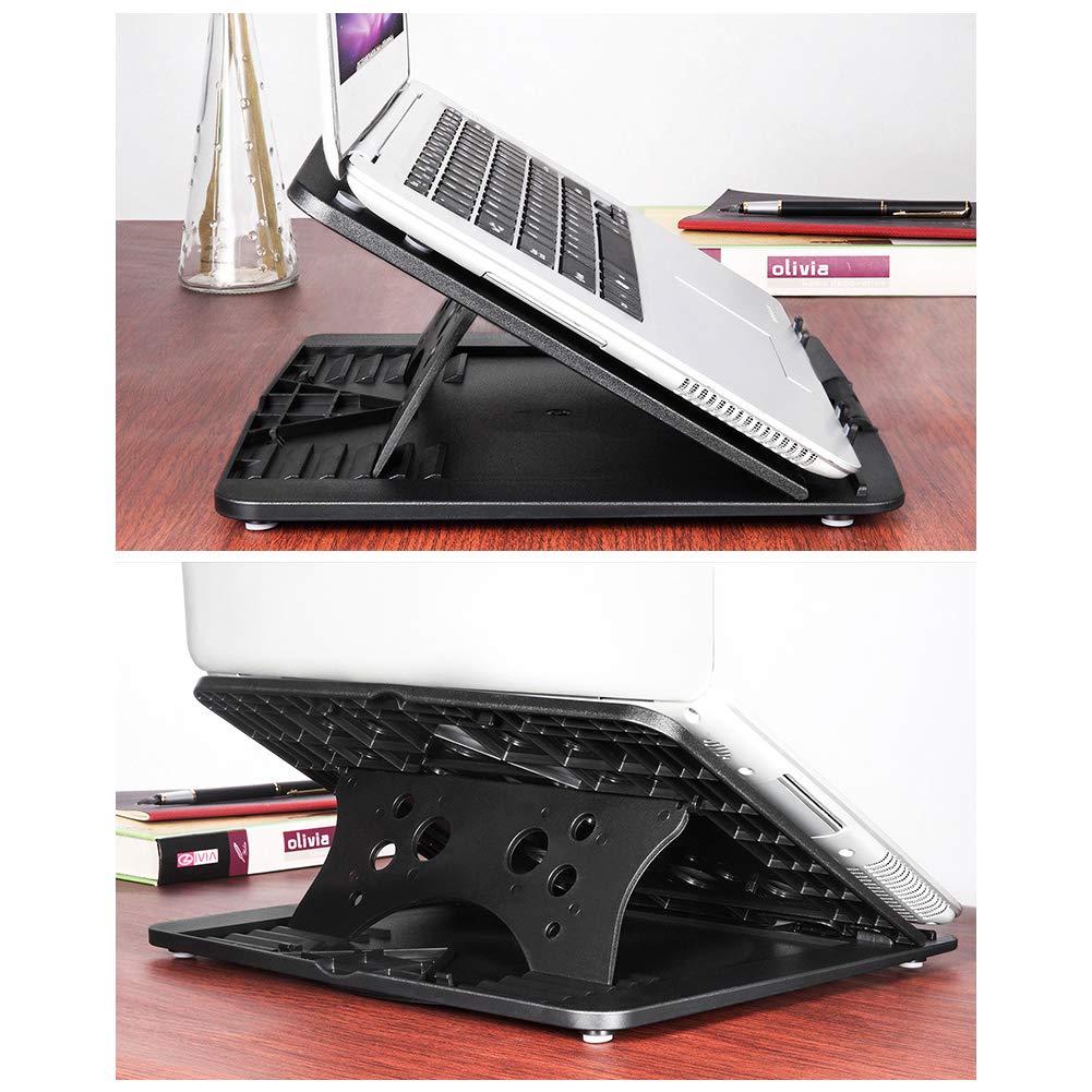 xgfdz XGF/® Support dOrdinateur Portable Protection De La Colonne Cervicale R/églage Multi-Angle