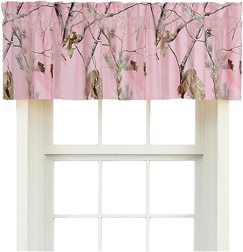 Realtree AP Pink Valance, 88 Inch X 15 Inch