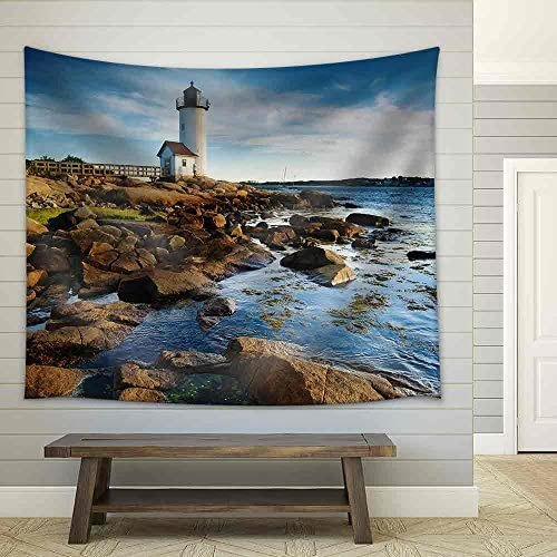 Annisquam Lighthouse Massachusetts Fabric Wall