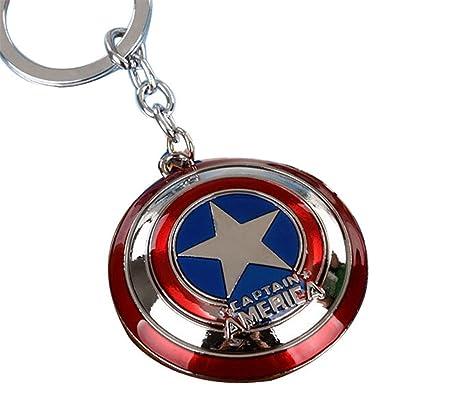 Captain America Cartel Colgante Llavero: Amazon.es: Hogar