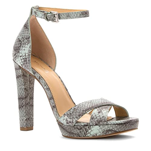 b33643b492f8 Michael Michael Kors Divia Ankle Strap Heels Women  Amazon.ca  Shoes    Handbags